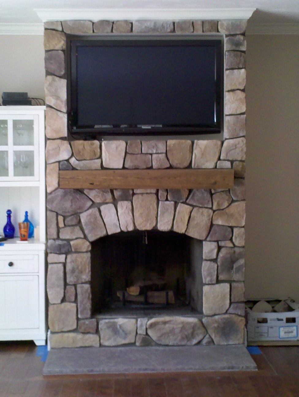 cedar mantel beautiful accent both to cover and trim fireplace