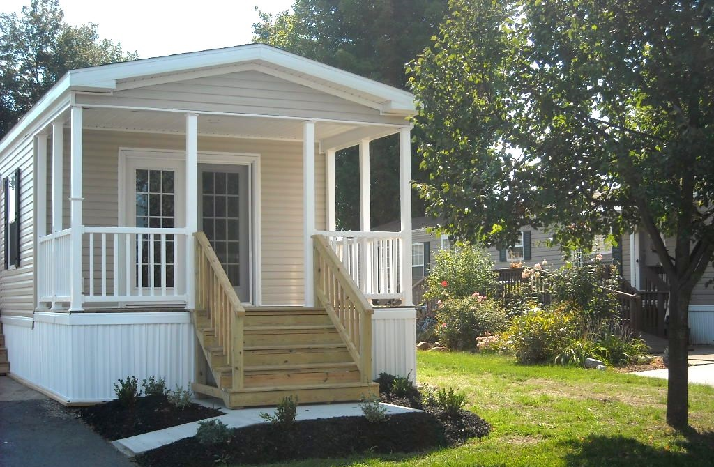 Front porch designs for mobile homes homesfeed Mobile home porch design ideas