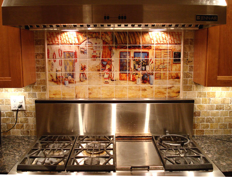 Get Your Kitchen Bathed with Awe with the Touch of Gorgeous Spanish Ideas For Decorating Above Kitchen Stove Backsplash on lighting above stove, cabinets above stove, backsplash behind stove, tile mural above stove, microwave above stove, accent tile above stove, subway tile above stove, decorative tile above stove,