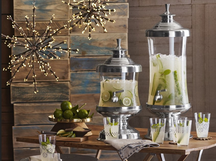 Cheer Up Your Party With A Classy Glass Beverage Dispenser
