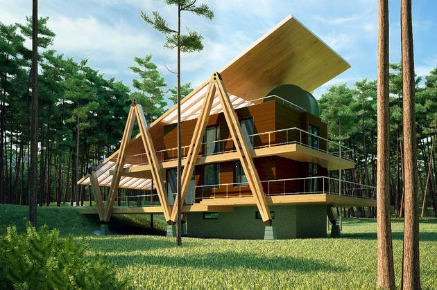 Best designs energy efficient home homesfeed for Eco efficient homes