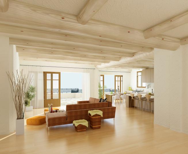 Open Kitchen Floor Plans India