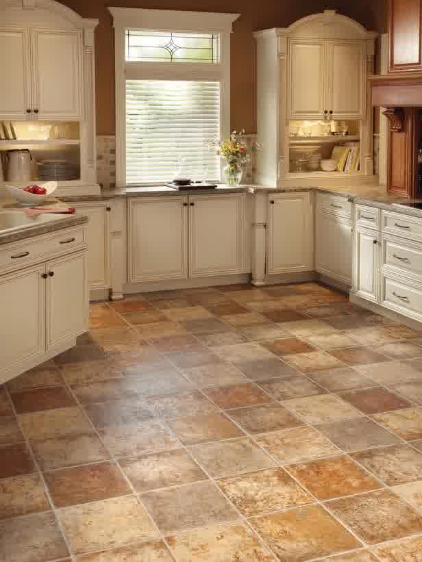 Make your kitchen decoration more alive with the excellent for Flooring options for kitchens
