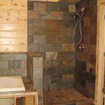 walk in showers no doors with cool tile for wall and floor for smal bathroom ideas