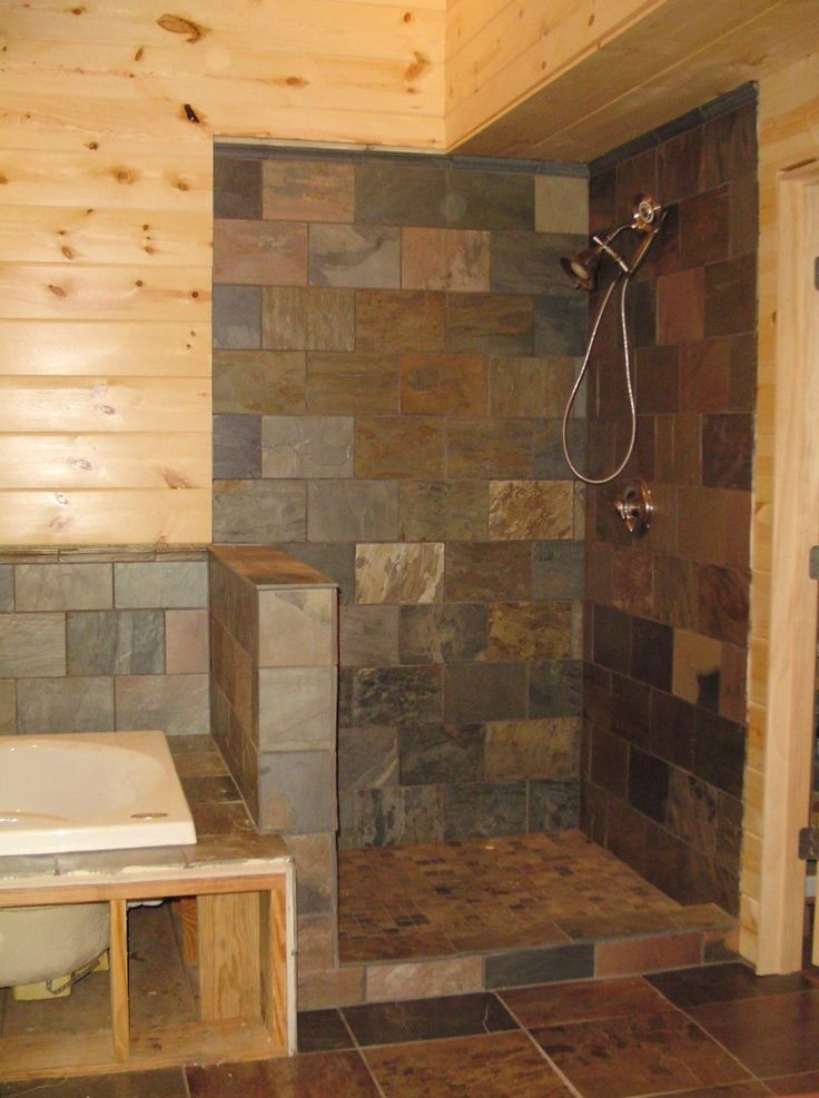 Compact And Accessible Bathroom Ideas With Walk In Showers With No Door Hom