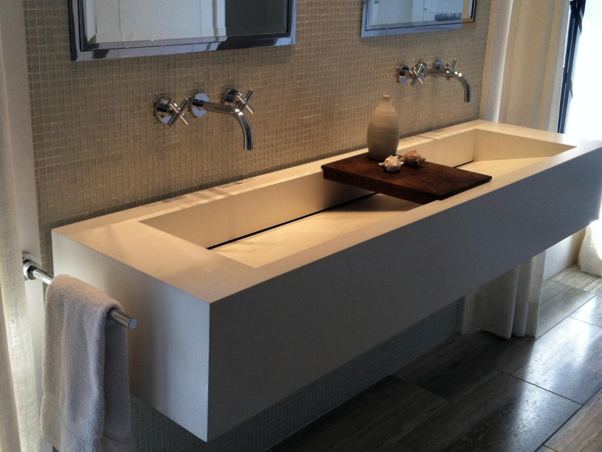 Kitchen Sink And Faucet Ideas Trough Sinks For Efficient Bathroom And Kitchen Ideas
