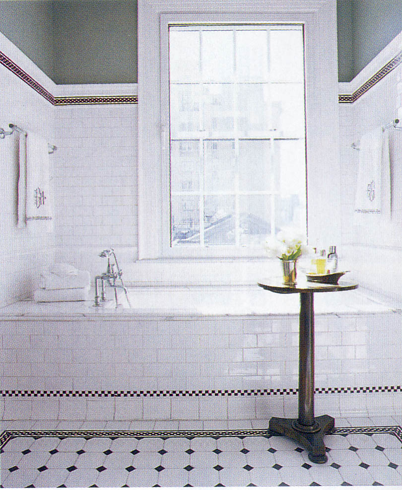 How to choose the best subway tile sizes to get the for White bathroom tiles ideas