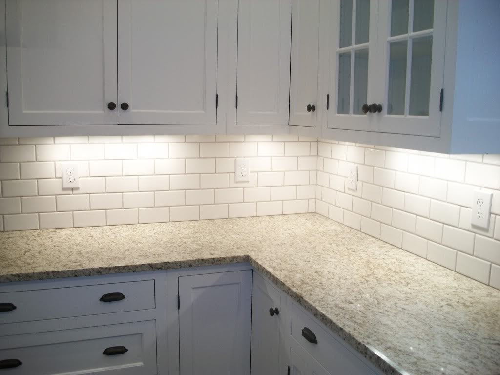 what size subway tile for kitchen backsplash how to
