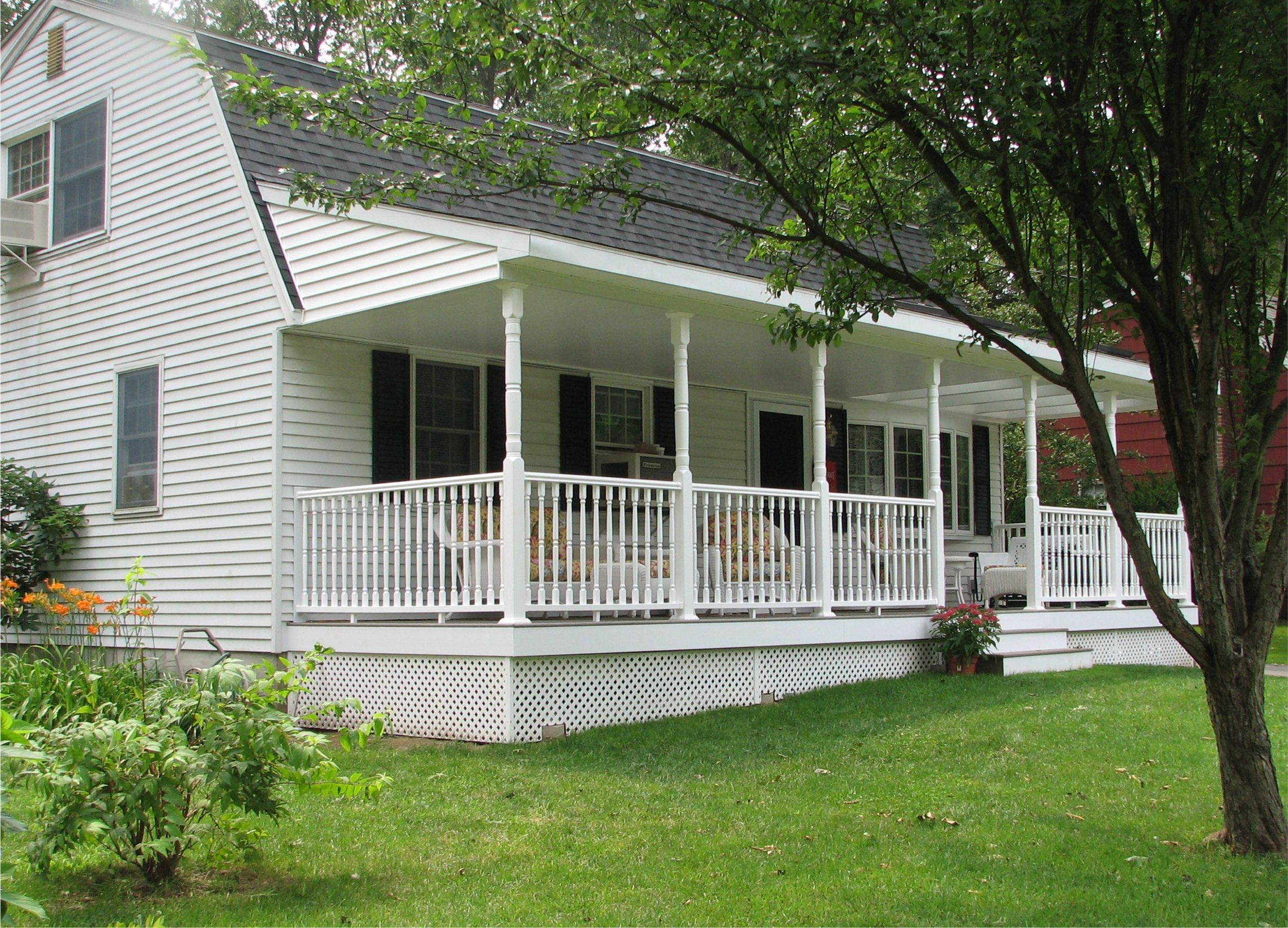 Prefabricated Porches front porch designs for mobile homes | homesfeed