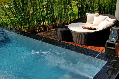Attractive Treatment Plunge Pool Design | HomesFeed
