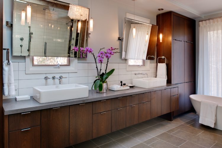 Mid Century Modern Vanity Upgrades Every Bathroom With Perfect Vintage Look Homesfeed