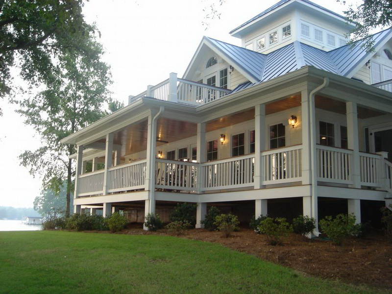 Country Home Design with Wraparound Porch | HomesFeed on