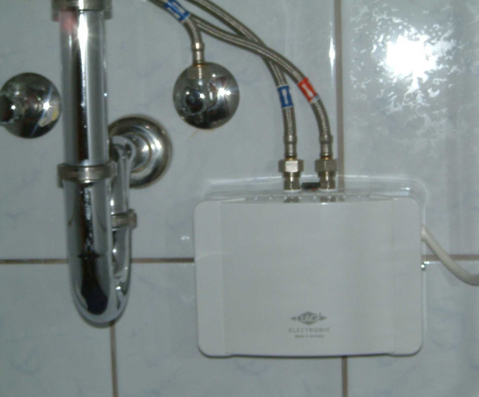 The Most Simple And Stylish Water Heater In Bathroom That