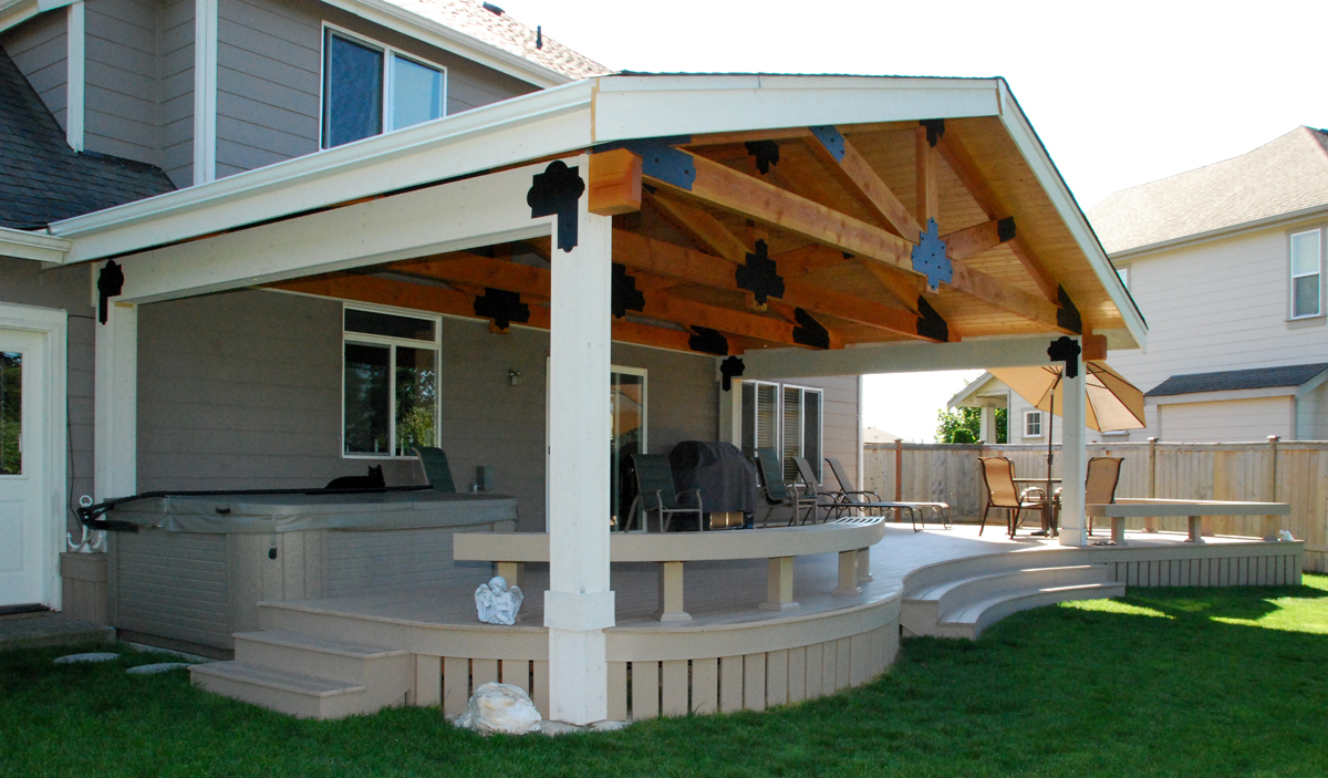 Elegant Deck Cover Ideas Homesfeed. Here ...