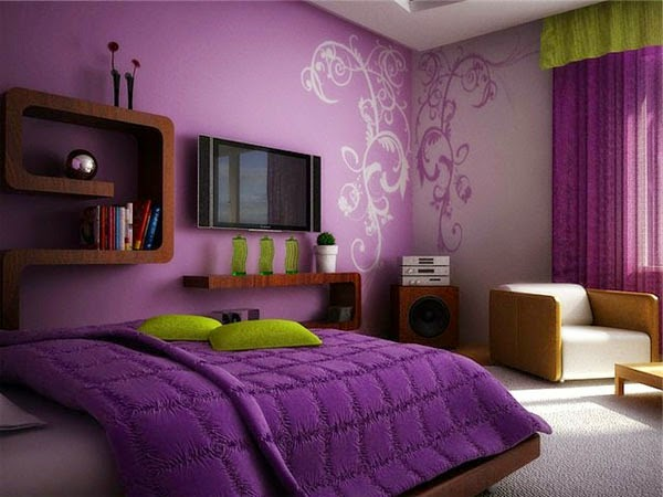 Purple Wall Paint The Variants HomesFeed