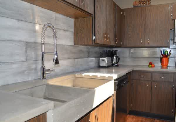 Concrete Backsplash Ideas for Kitchens | HomesFeed