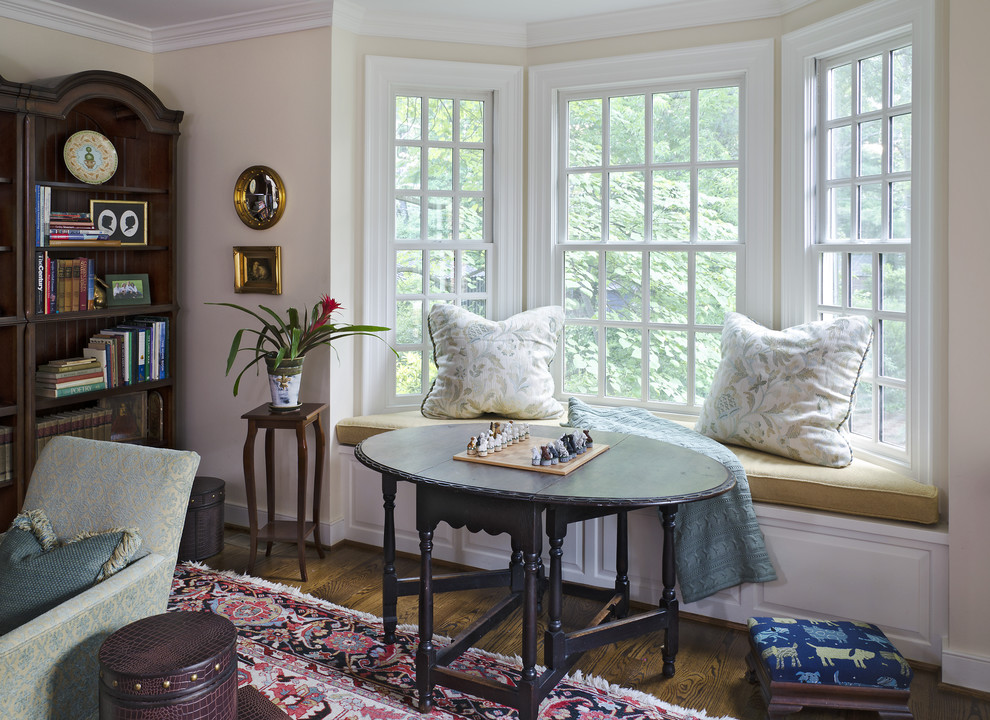 Bay Windows With Bench And