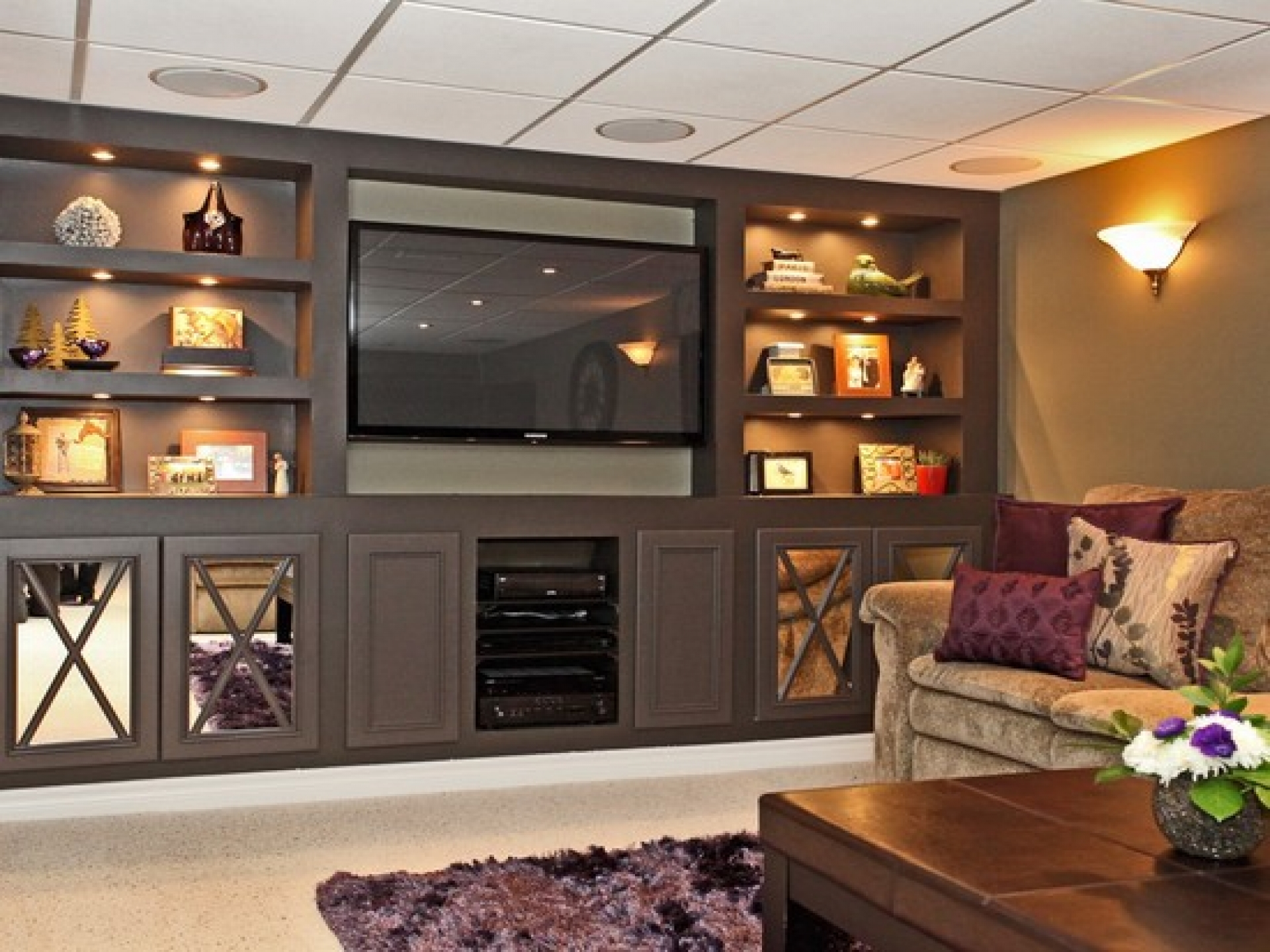Basement shelving ideas homesfeed - Basement design ideas photos ...
