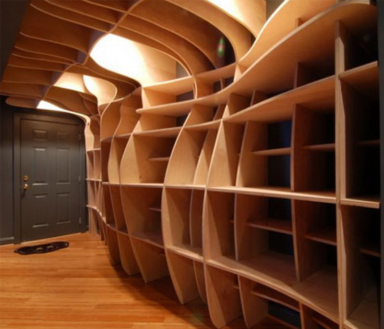 Basement Shelving Ideas