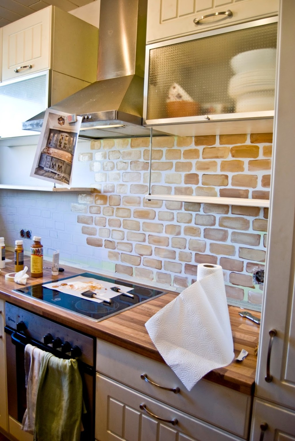 Rustic backsplash ideas homesfeed for Kitchen looks ideas
