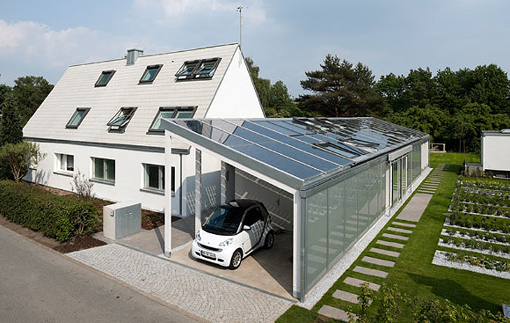 Most energy efficient home designs homesfeed for Solar energy house designs