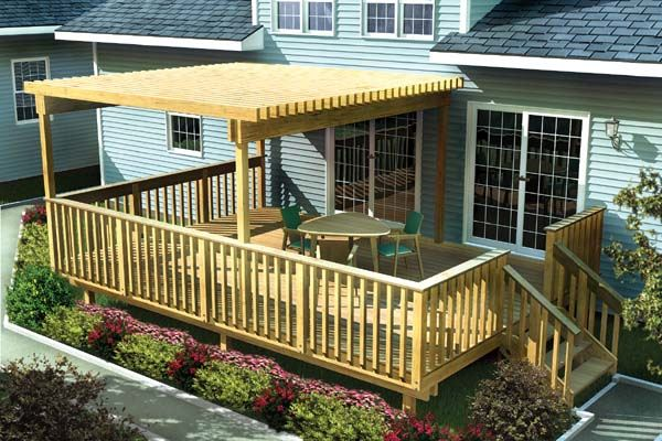 Deck cover ideas homesfeed - Picturesque patio shade ideas ...