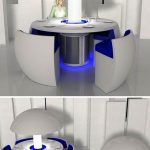 Jetson chair unit as futuristic chair