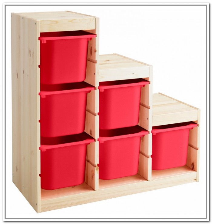 Lightwood box storage in small size & Stylish and Functional IKEA Small Storage | HomesFeed Aboutintivar.Com