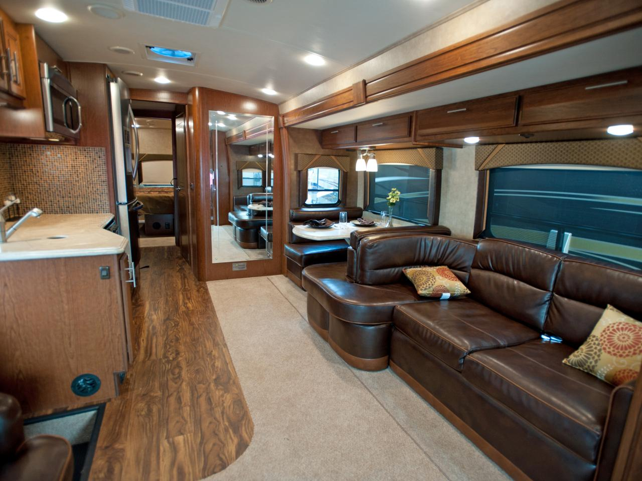 Stunning rv interior design homesfeed for Interior motorhome designs
