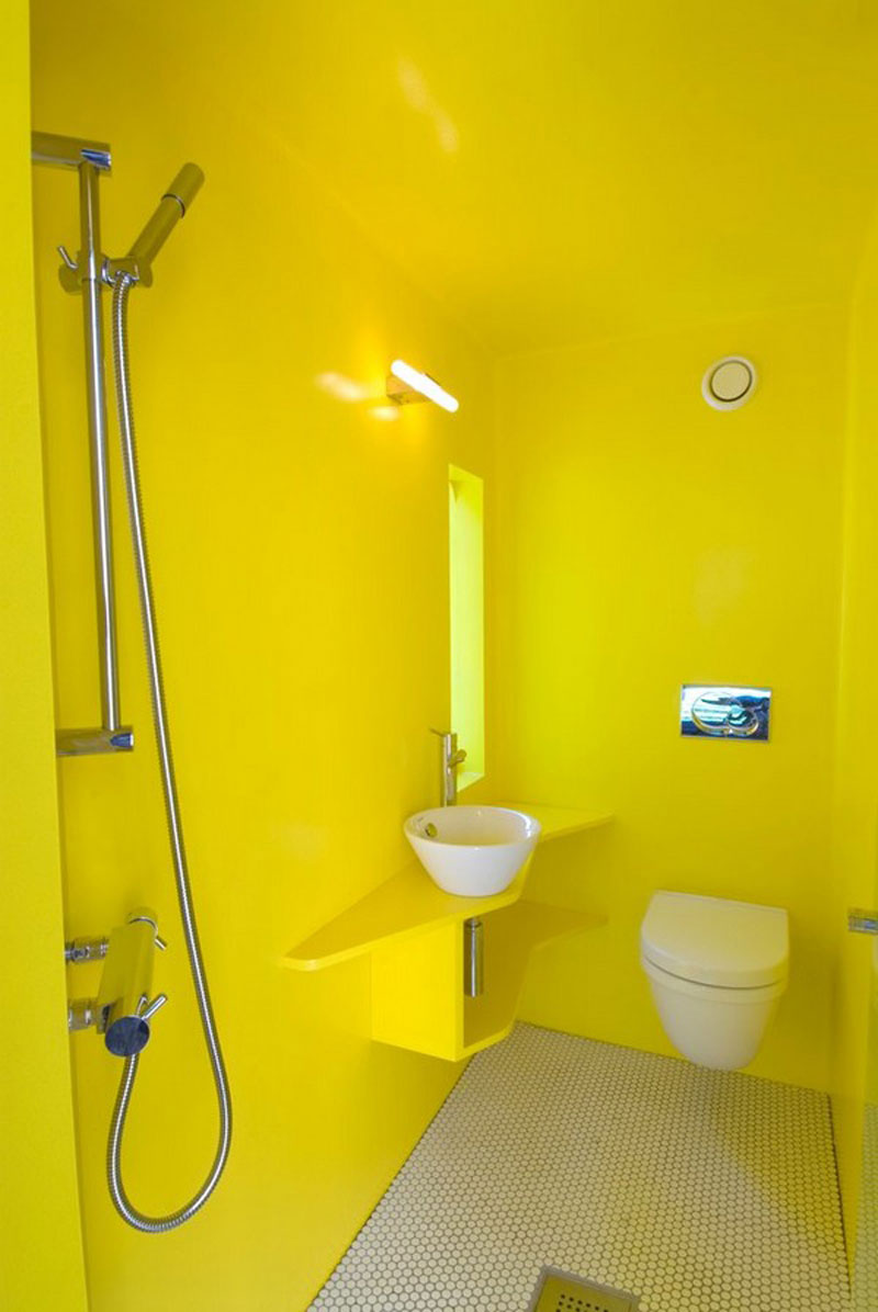 Yellow wall paint to create cheerful and fraesh nuance in for How to make yellow paint