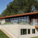 Minimalist most energy efficient house design with wood construction