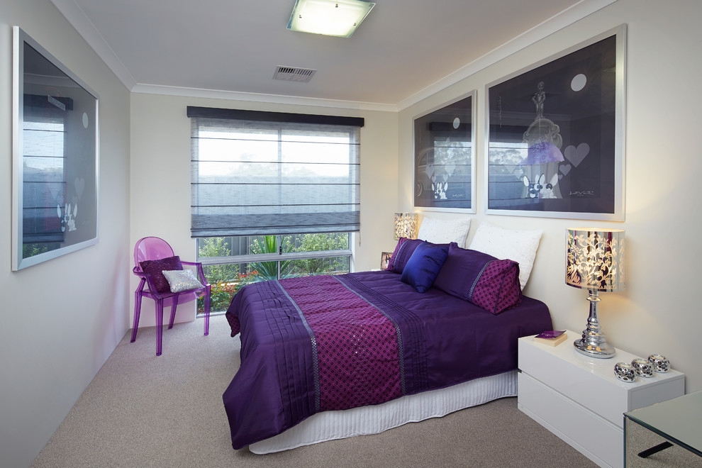 Important Things of Purple Bedroom Decor | HomesFeed