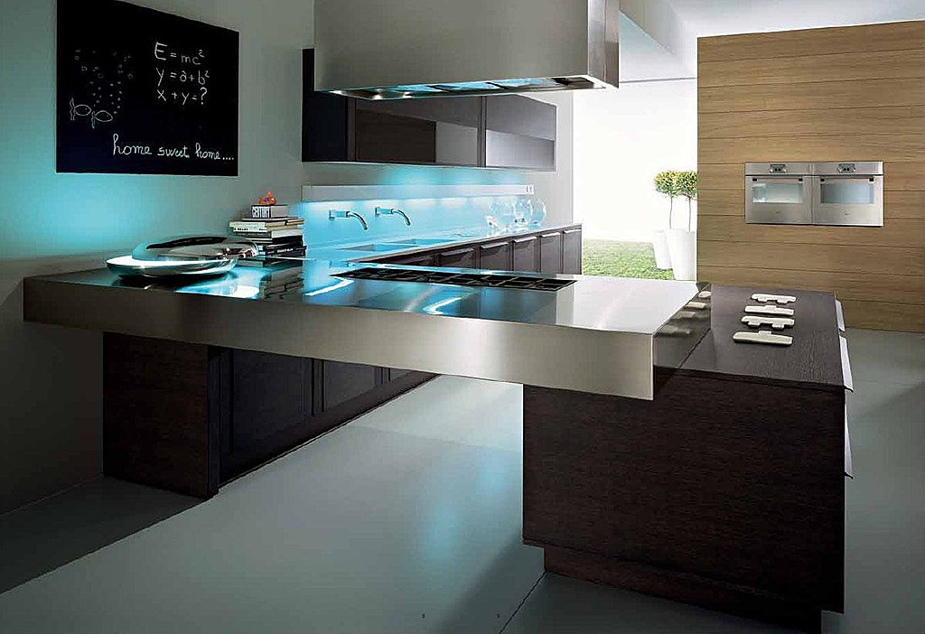 Ultra modern kitchen styles homesfeed for Modern kitchen design aluminium