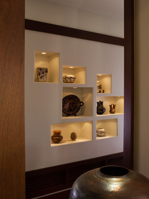 Wall niche ideas tips of how to decorate them homesfeed - Modern wall niche designs ...