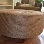 Old tire Ottoman idea for homes
