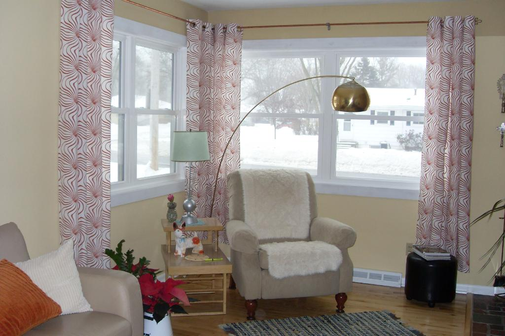 corner windows by supporting them with stunning corner window curtains