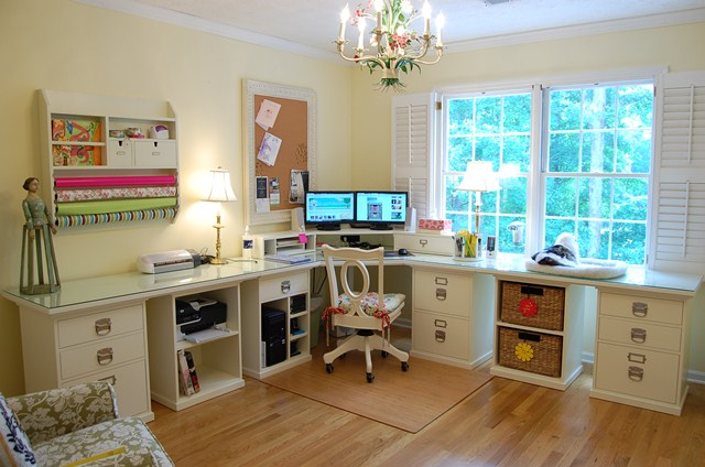 Home Craft Room: Home Office Craft Room Design Ideas