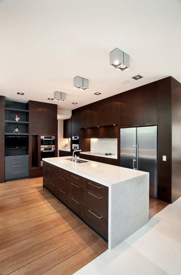 Ultra modern kitchen styles homesfeed for Simple modern kitchen cabinets