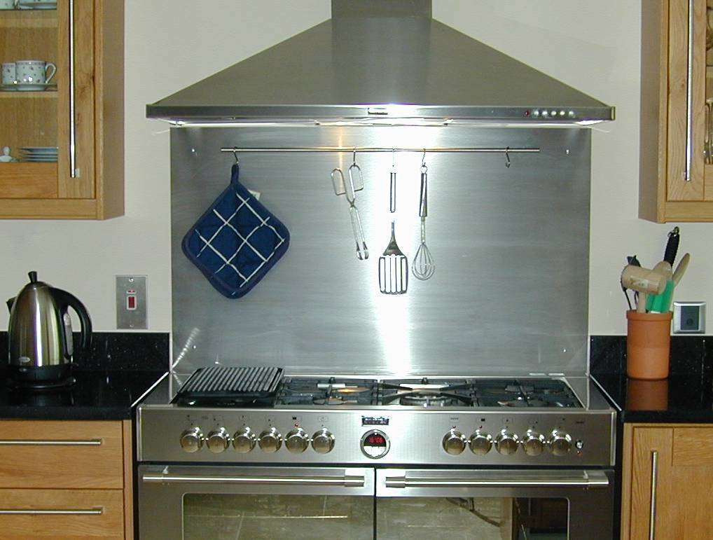 stainless steel kitchen backsplash large gas stove black kitchen
