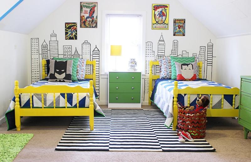 Superhero Bedroom Ideas | HomesFeed