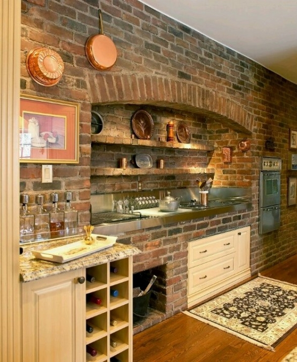 rustic backsplash ideas homesfeed elegant rustic kitchen backsplash for the home pinterest