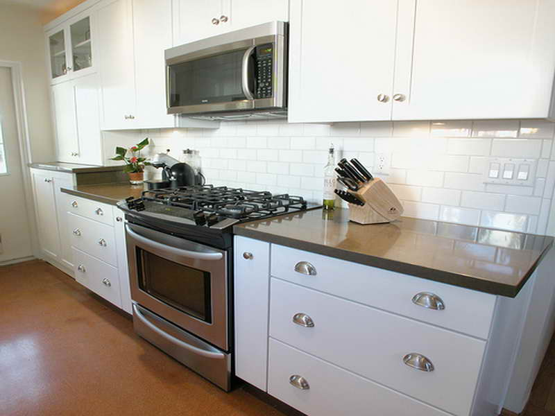 White Ceramic Subway Tiles Backsplash For Kitchen Modern White Kitchen  Cabinet Systems A Knives Organizers Gas