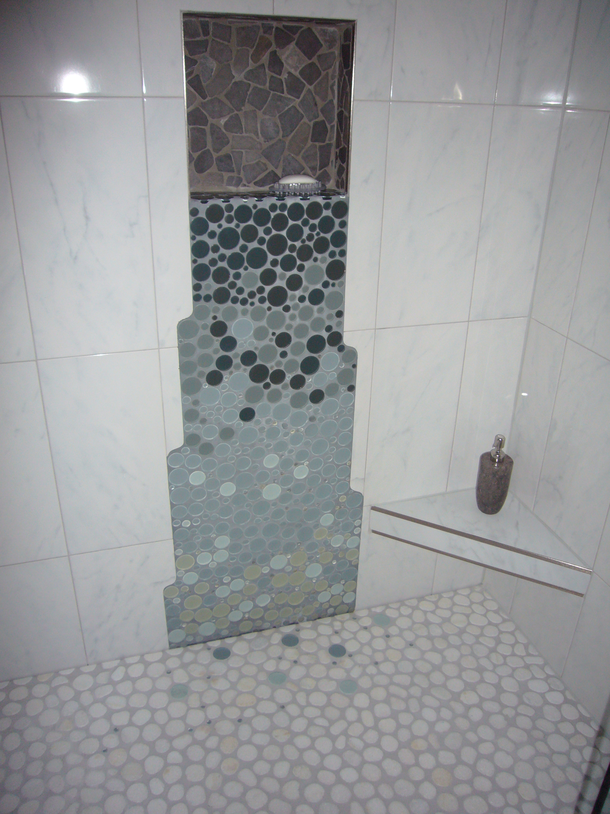 Top Selections of Modern Shower Tile | HomesFeed