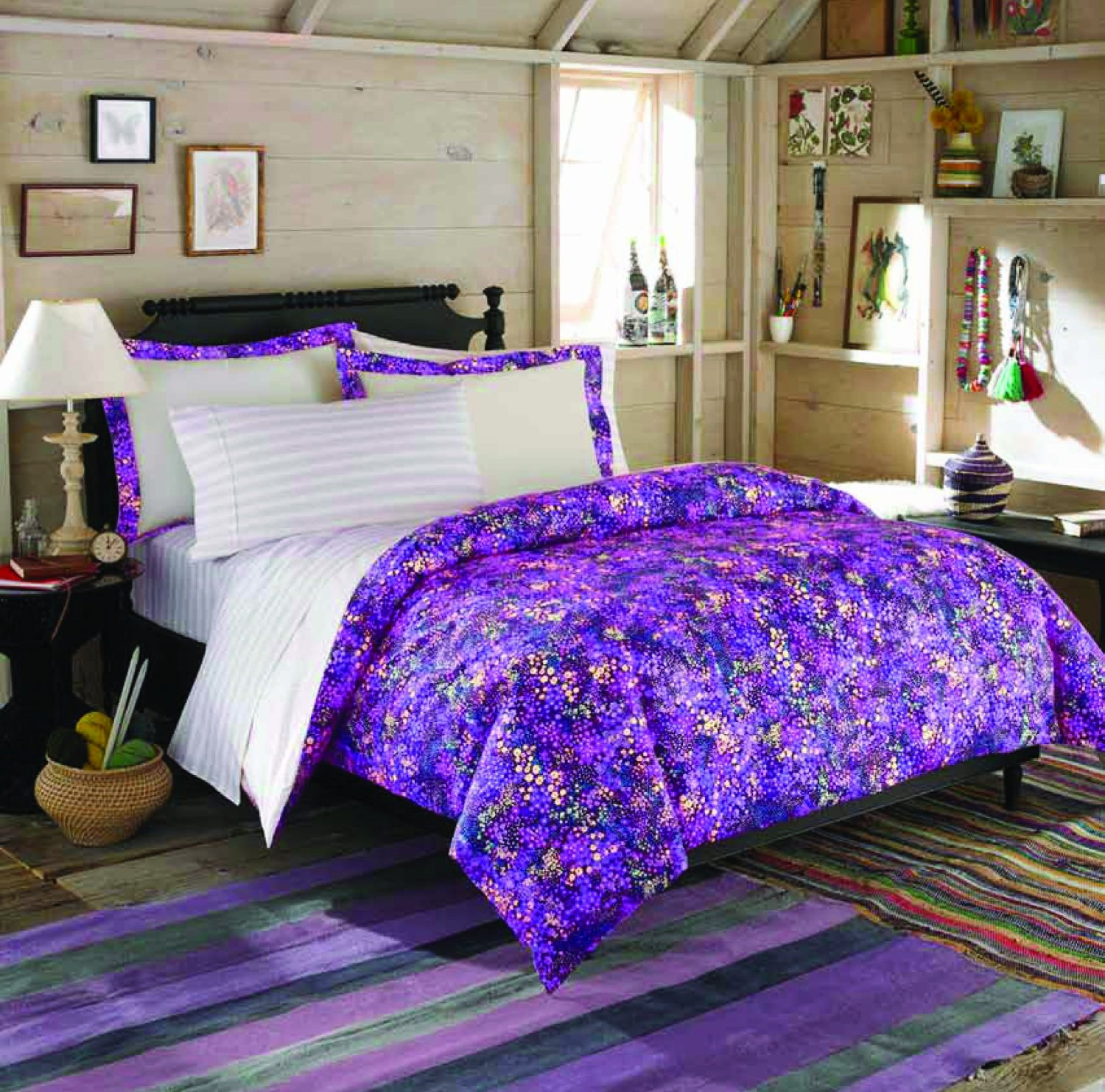Important Things Of Purple Bedroom Decor Homesfeed