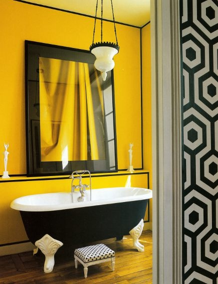 Yellow Bathroom Color Ideas. Happy Feet Yellow Bathroom Color Ideas ...