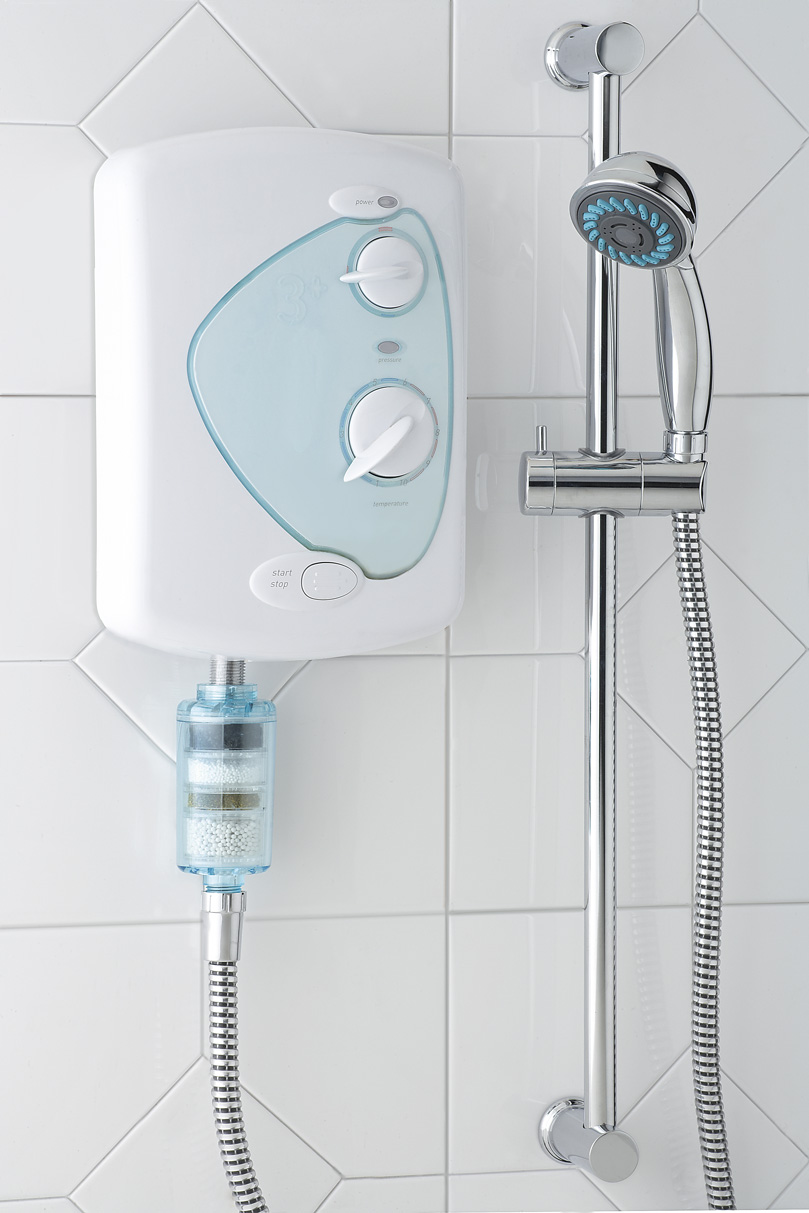 how to fix hard water in shower