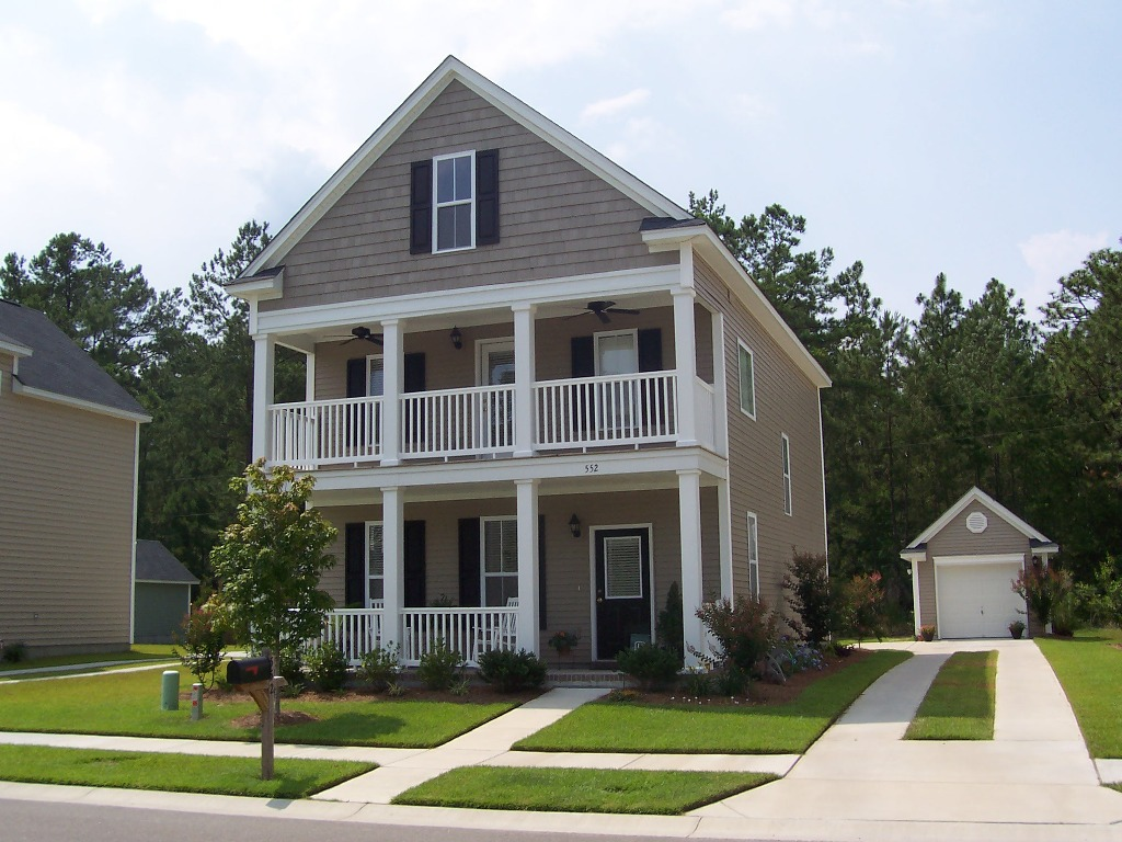 Find the most popular exterior house color for exciting for Two story house exterior design