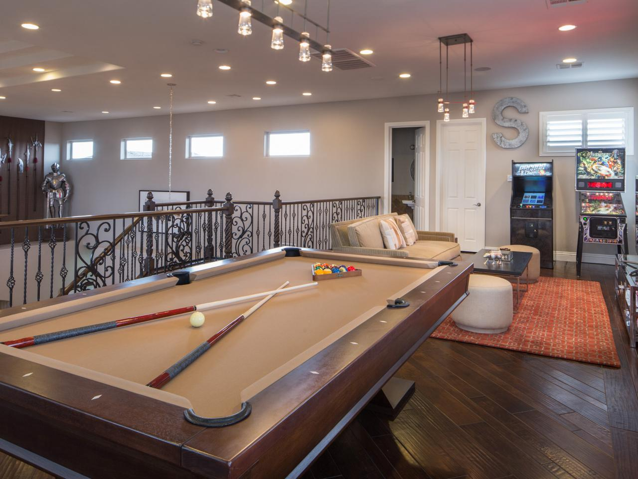 A Game Room For Adult That Will Make Your Leisure Time
