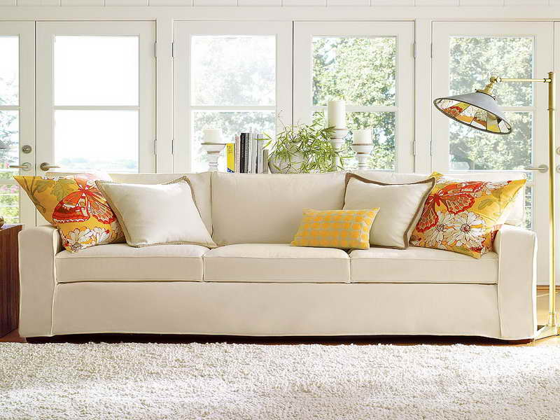 Pottery Barn Sofa Which Will Make Your Living Room Extremely Comfortable Ho