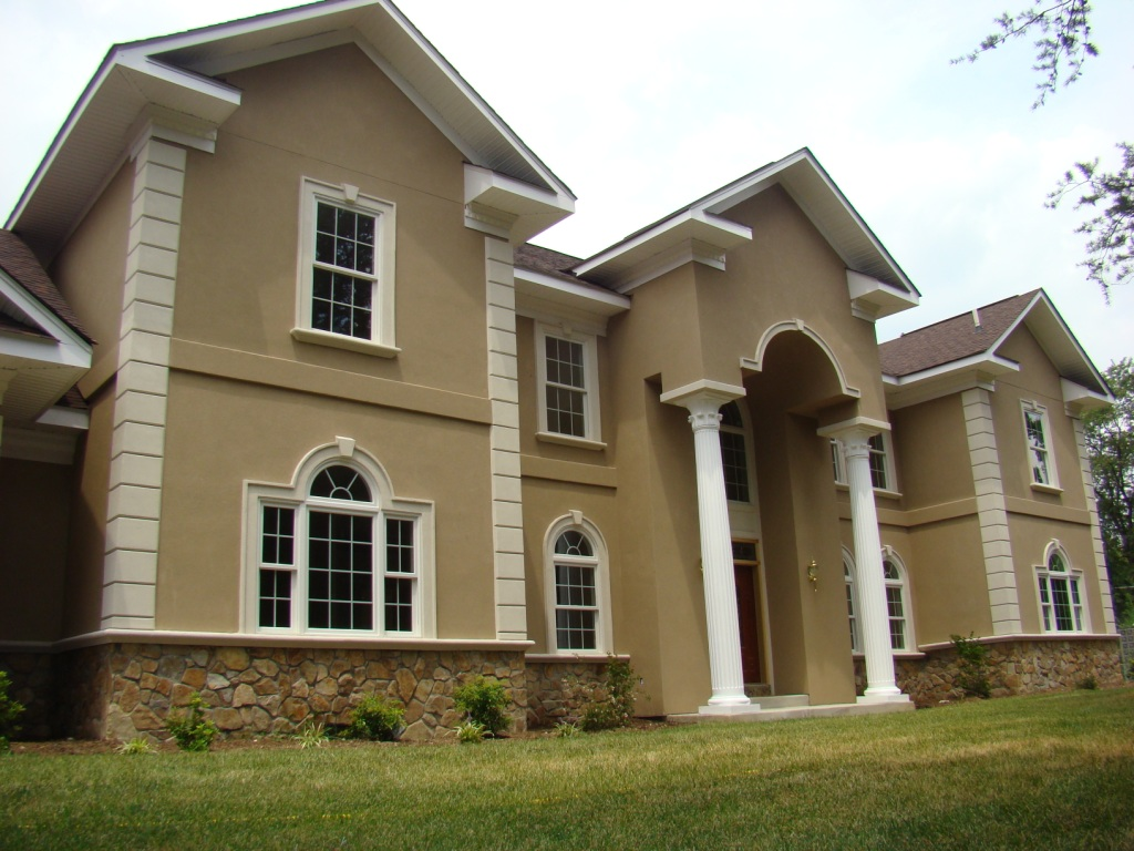Find the most popular exterior house color for exciting for Exterior colour design of house